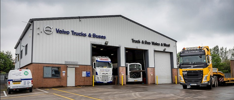 Truck & Bus Wales & West opens a new Volvo Trucks Dealerpoint in Bridgwater, Somerset